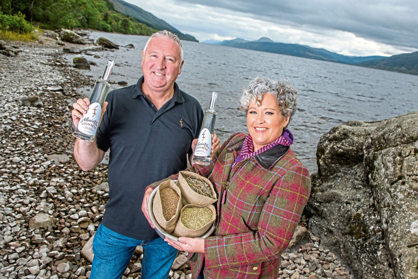 Husband And Wife?s Loch Ness Gin Has Become A Monster Hit photo