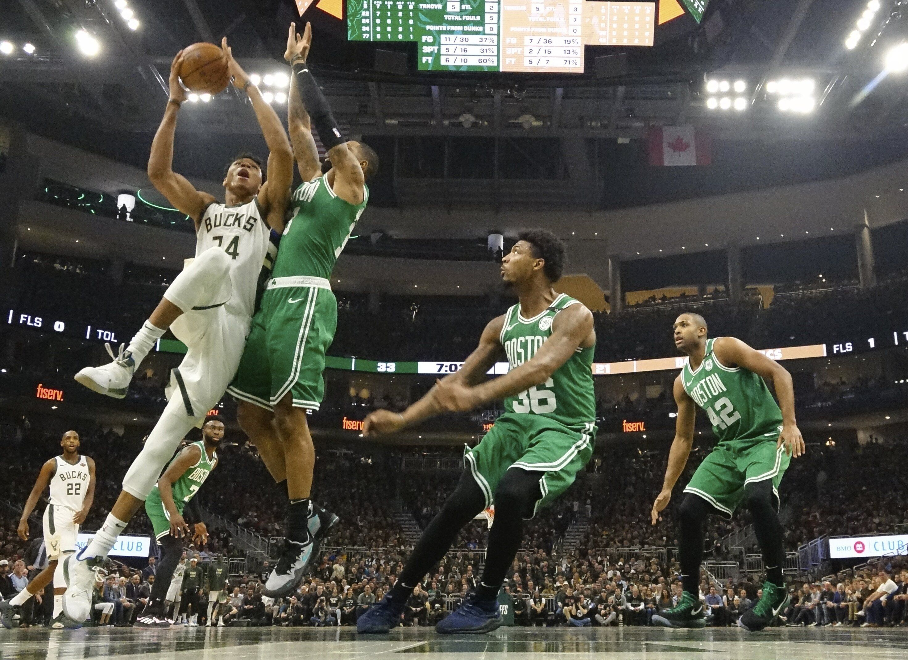 Bucks Mercifully End Celtics' Season With Game 5 Stomping photo