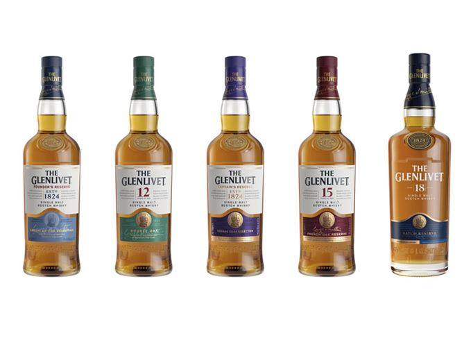 The Glenlivet Is Given ?bold? Redesign photo