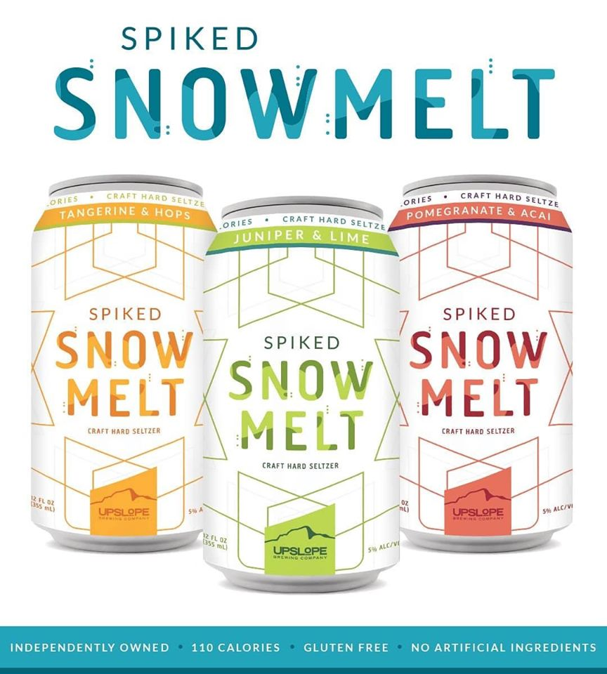 Upslope Brewing Company Releases Spiked Snowmelt Craft Hard Seltzer photo