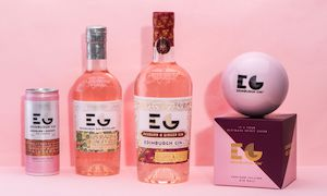 Edinburgh Gin Launches Full Strength Rhubarb & Ginger Edition photo