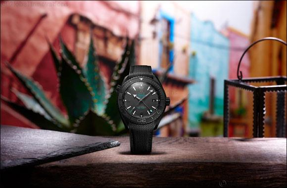 Uae- Omega And Casamigos Tequila And Mezcal Launch New Deep Black Timepiece photo
