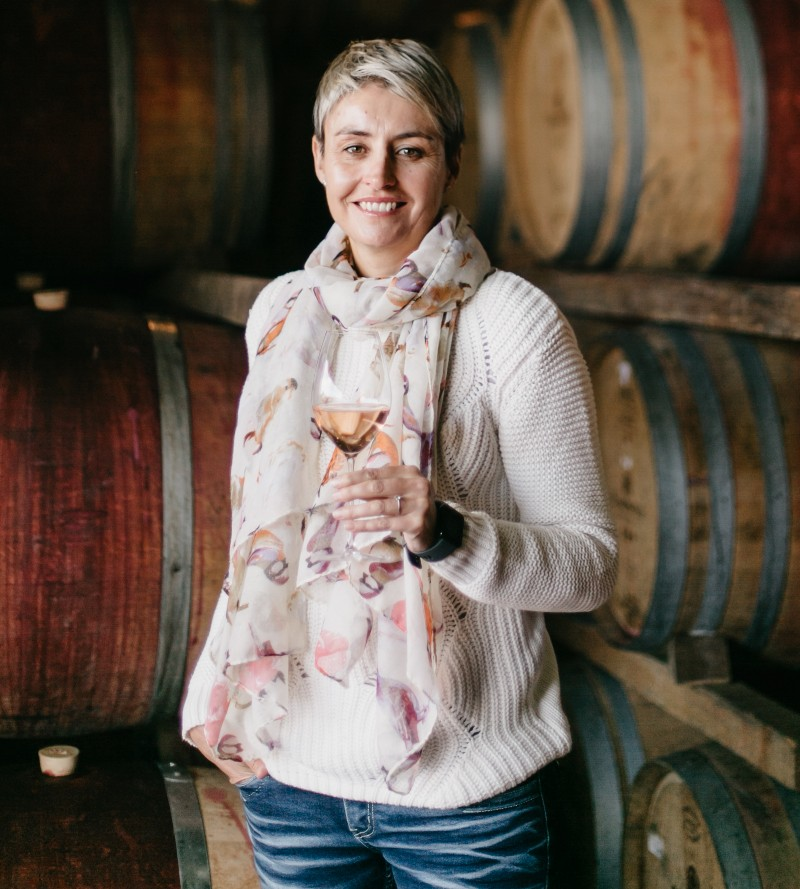 Debbie Thompson Takes Over Role of Cellar Master at Simonsig Estate photo