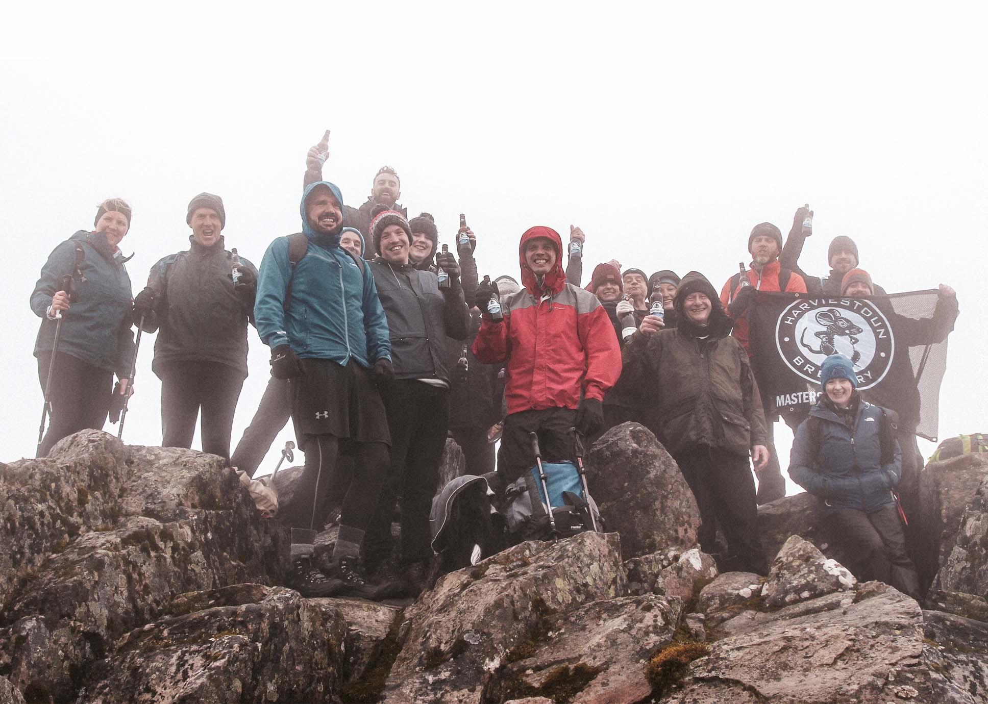 Harviestoun Brewery Team Take On Munro Climb photo