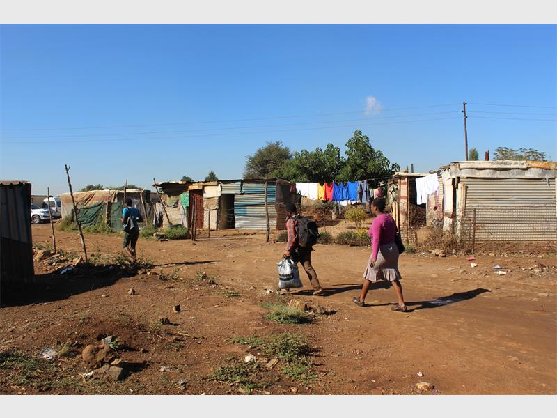 Mooiplaas Residents Fed Up With Delays photo