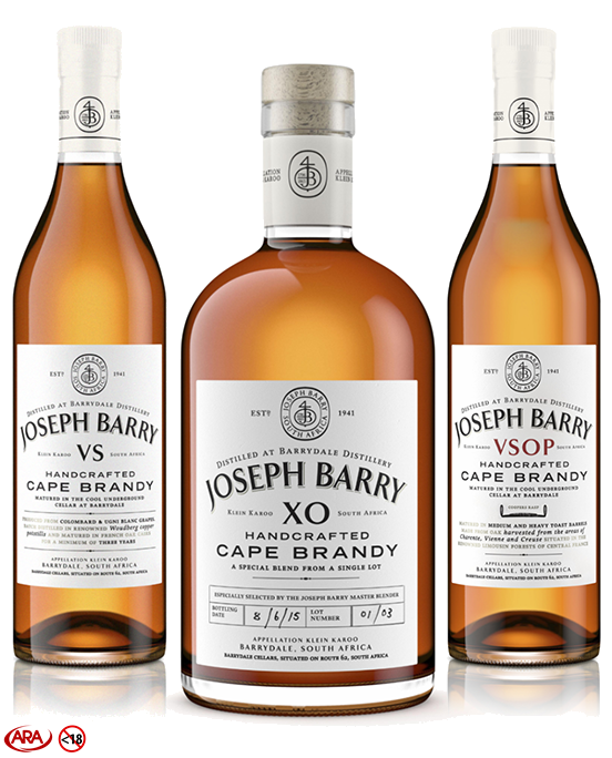Joseph Barry VS Cape Brandy Top 5 Best Value For Money Brandies In The World