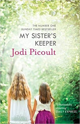 """Sandra Is A Bellanaijarian Reading """"my Sister's Keeper"""" By Jodie Picoult photo"""