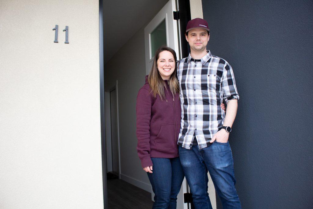 Couple First To Take Advantage Of New Near-market Housing photo