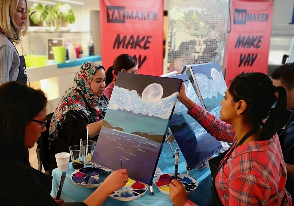 Paint Nite At The Cape Milner Hotel With Yaymaker photo