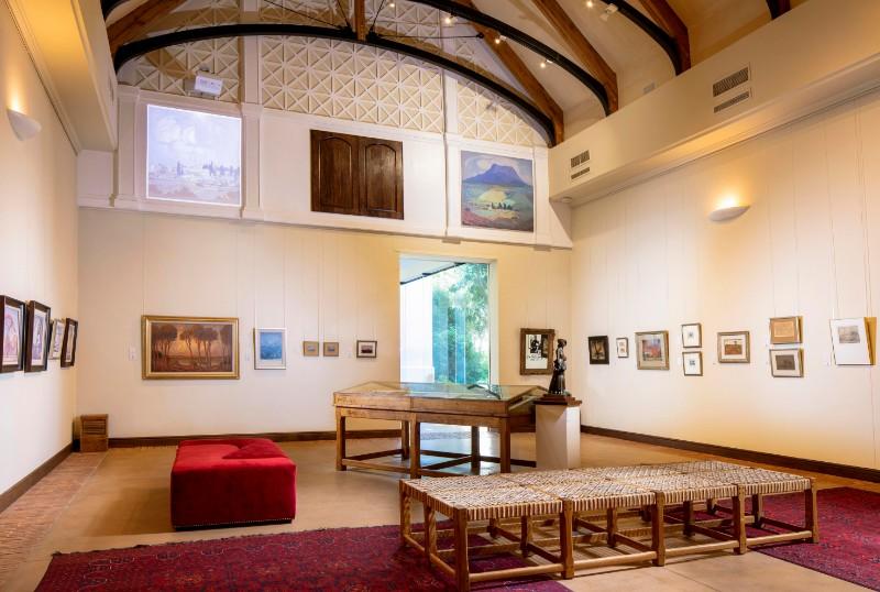 La Motte Museum Reconstructs Pierneef's Famous Johannesburg Station Panels photo