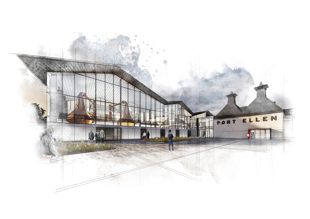 Port Ellen Distillery Plans Are Formally Submitted photo