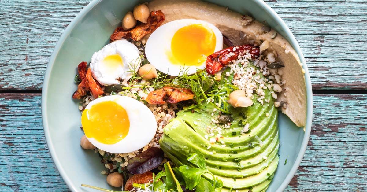 Beautiful Brunch Quinoa Bowl photo