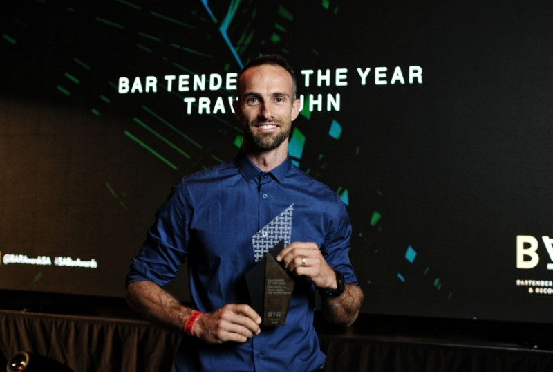 SA B.A.R Awards Bartender of the Year 2019 Travis Kuhn. Image credit Loop Films That Extra Dash with Travis Kuhn