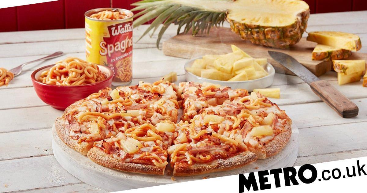 Domino's New Zealand Has Launched A Pineapple And Tinned Spaghetti Pizza photo