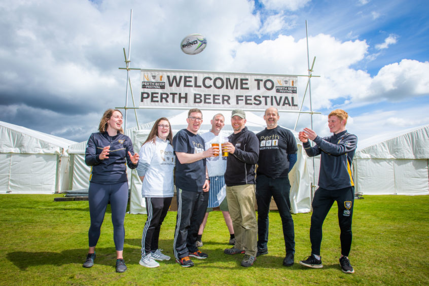 Beer Lovers Raise A Glass As Festival Returns To Celebrate 150 Years Of Perthshire Rugby photo