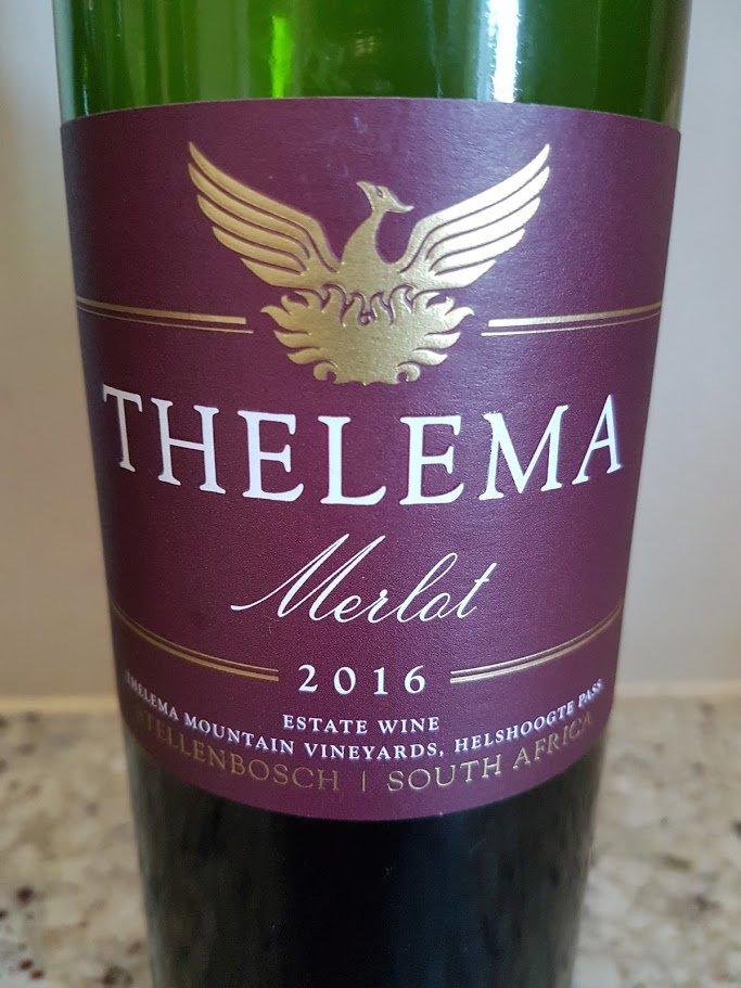 Thelema Merlot 2016 photo