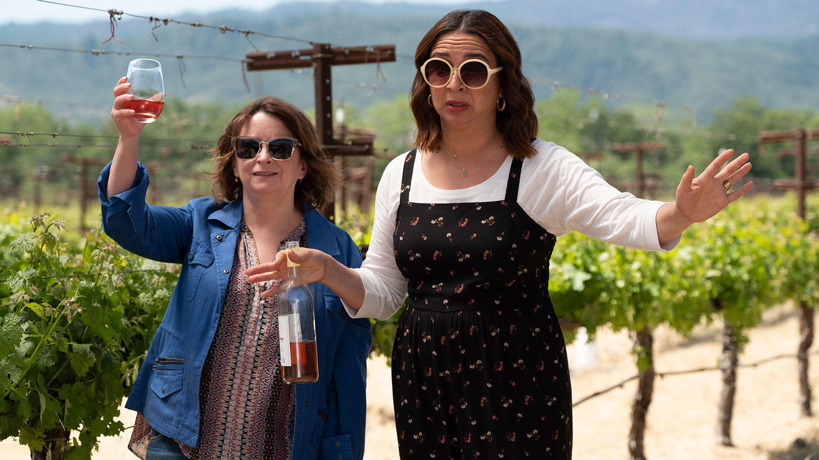 Road To 'wine Country' Movie Interview: It's Maya Rudolph And Rachel Dratch's Party photo