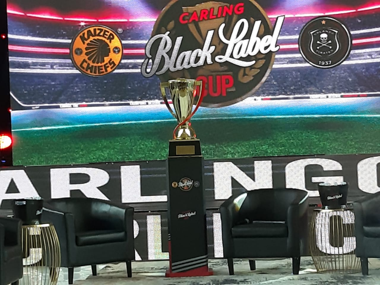 Watch: Chiefs Versus Pirates In Carling Black Label Cup Challenge photo