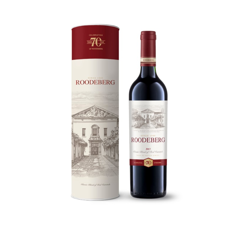 Roodeberg releases 2017 vintage in 70 year commemorative bottle photo