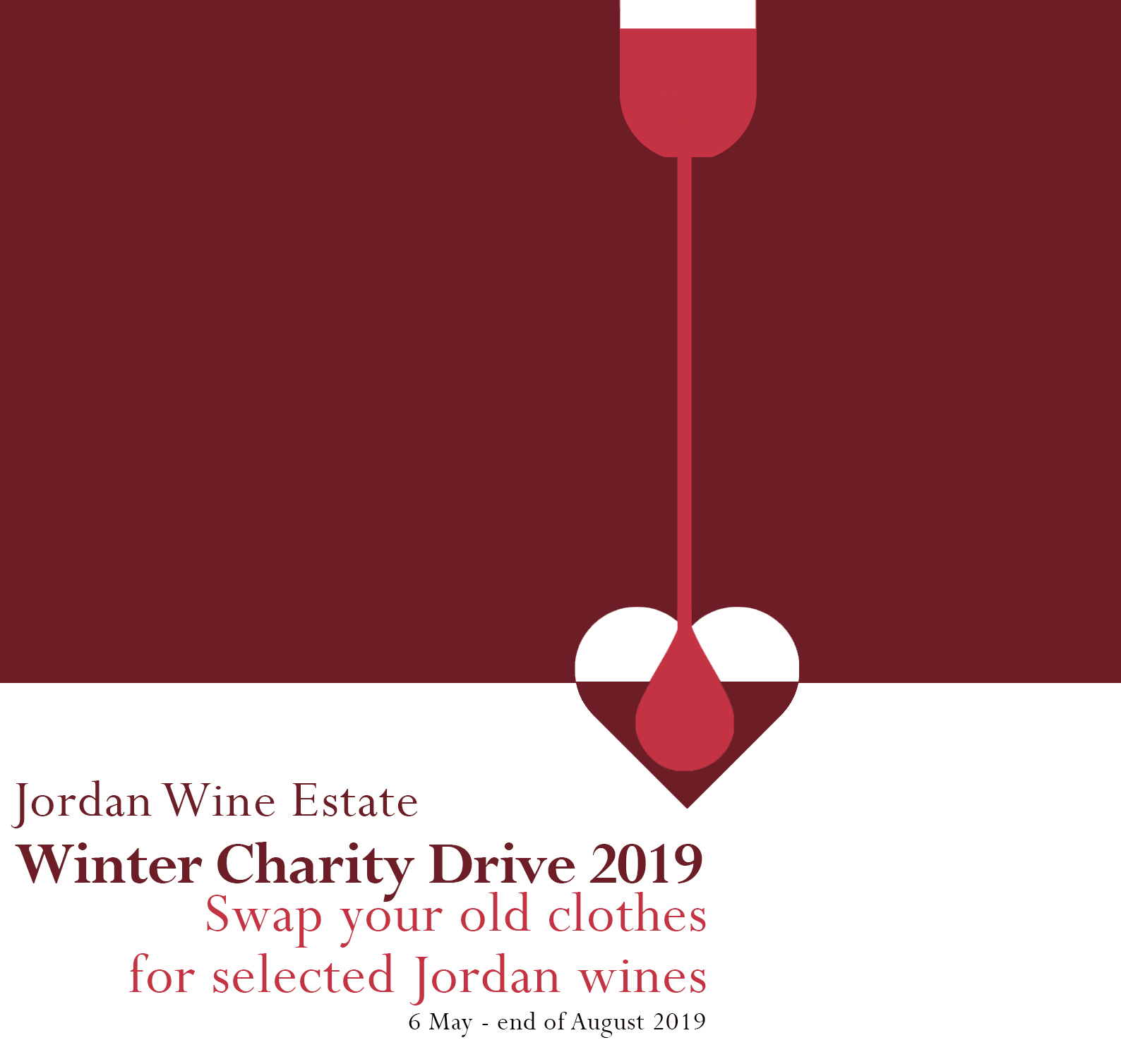 Winter Charity Drive at Jordan Wine Estate photo