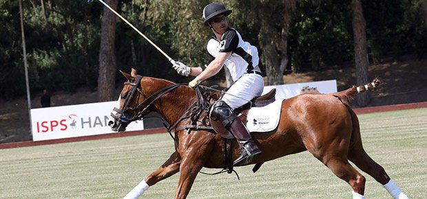 Pics: Prince Harry Plays Annual Charity Polo Match In Rome photo