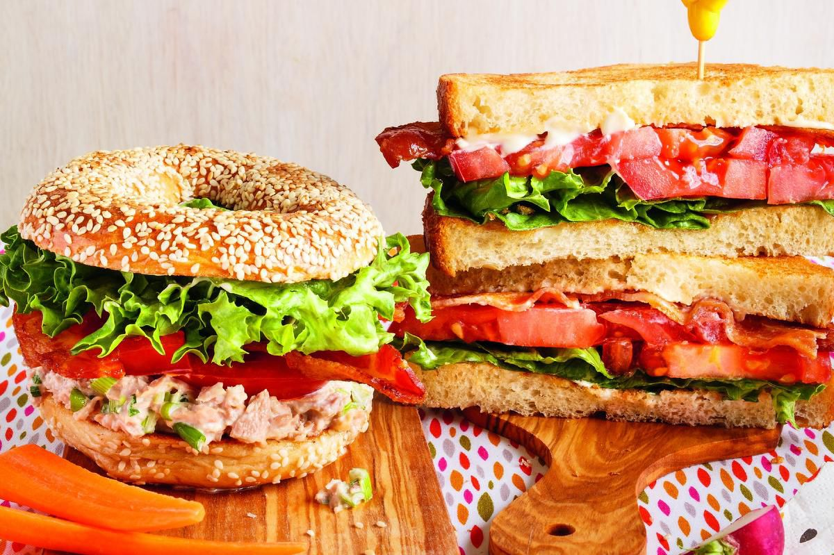 This Blt Comes With An Extra Hit Of Protein In Tuna photo