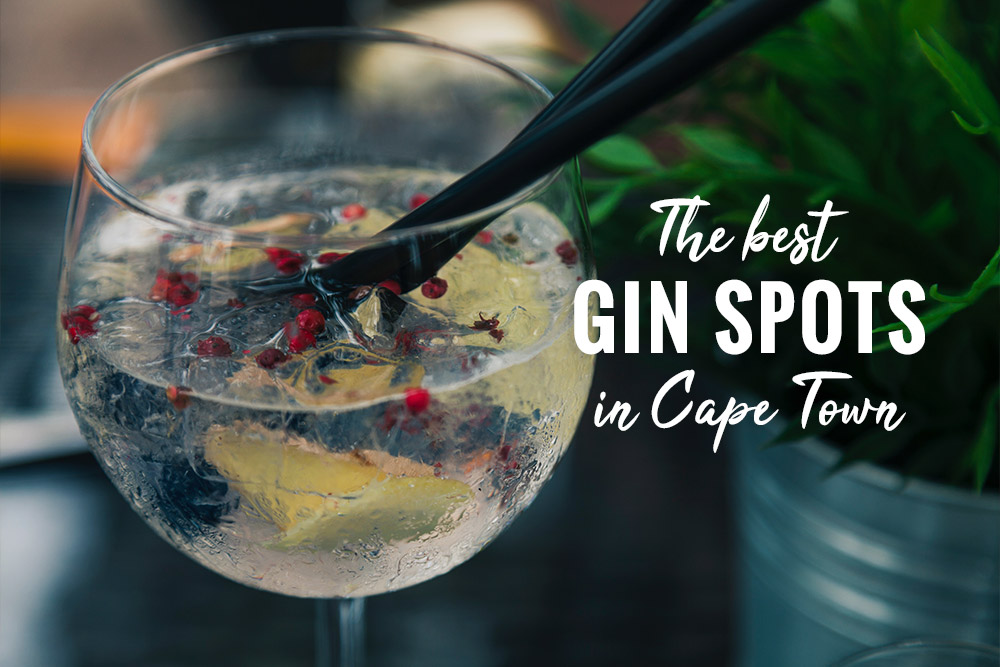 The Best Gin Bars In Cape Town photo