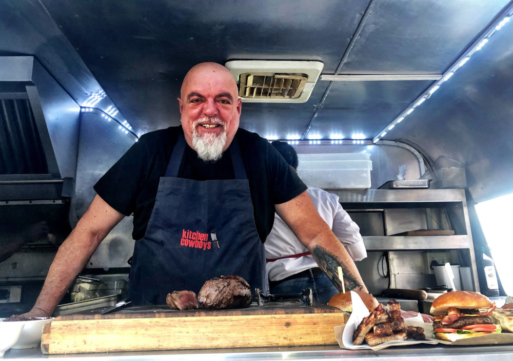 Wheels On Fire: Pete Goffe-wood: Rolling Down The Road To Paarl, Food Truck In Tow photo