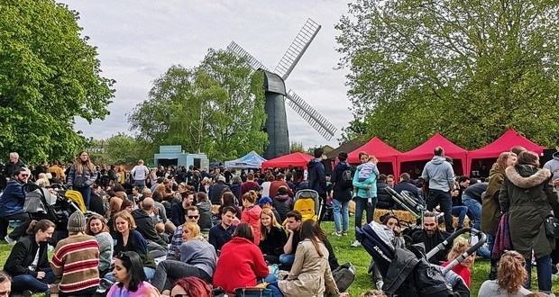 In Photos: Brixton Windmill Beer And Bread Festival, Bank Holiday Monday, 6th May 2019 photo