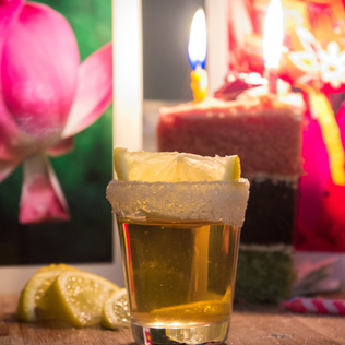 Ok. It?s A Little Silly. But That?s No Reason Not To Make Your First Legal Drink A Birthday Cake Shot. photo