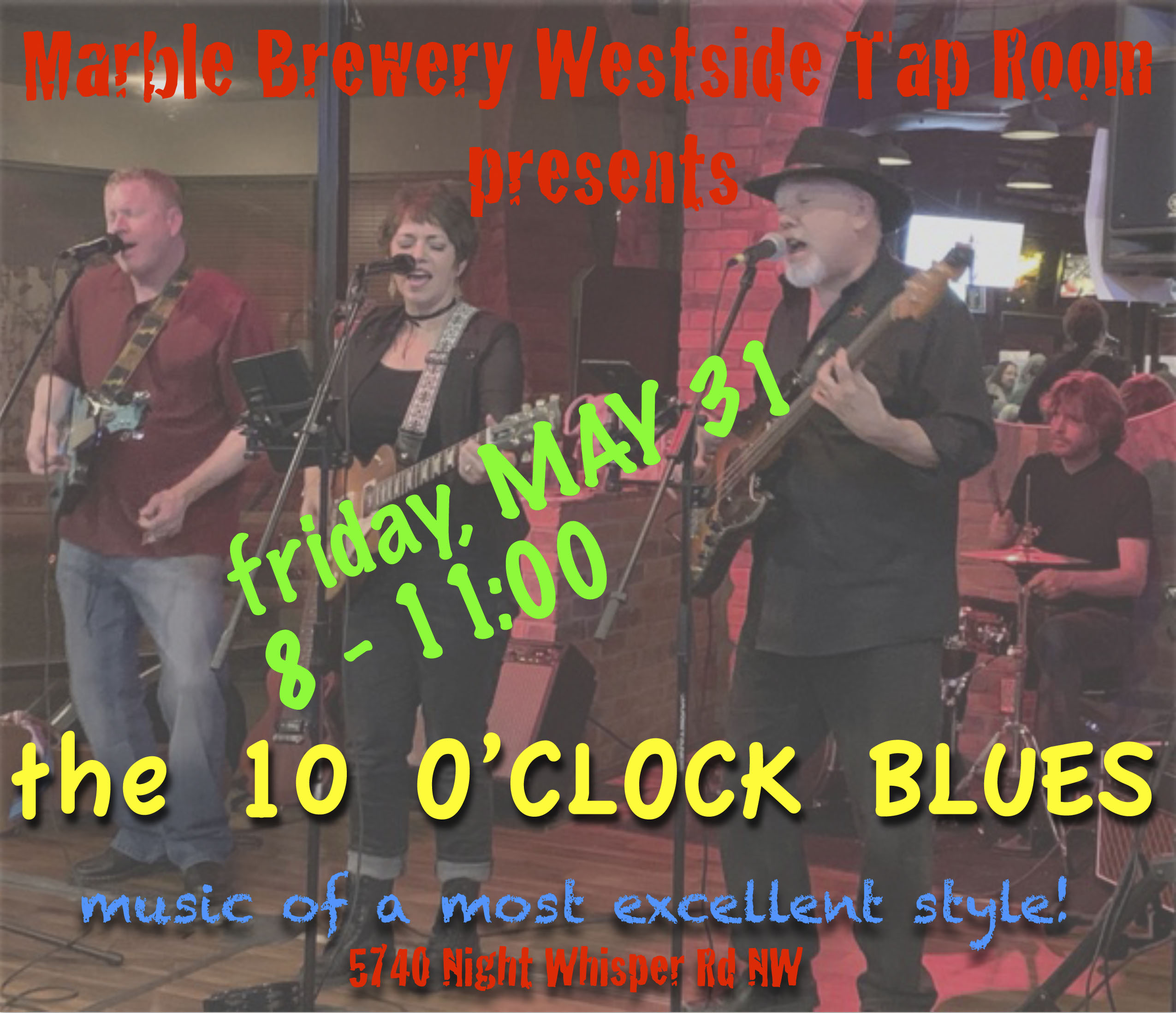 10 O'clock Blues ? Blues At Marble Brewery Westside Tap Room, Albuquerque photo