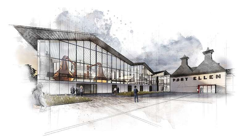 Diageo Submits Detailed Plans For Port Ellen Distillery photo