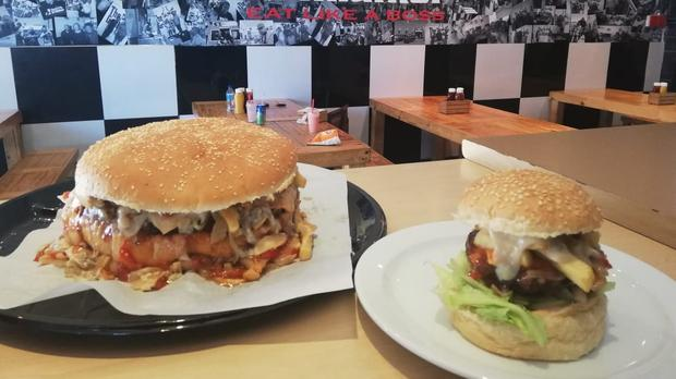 The Grillfather's 2.8kg Burger Is A Mouthful photo