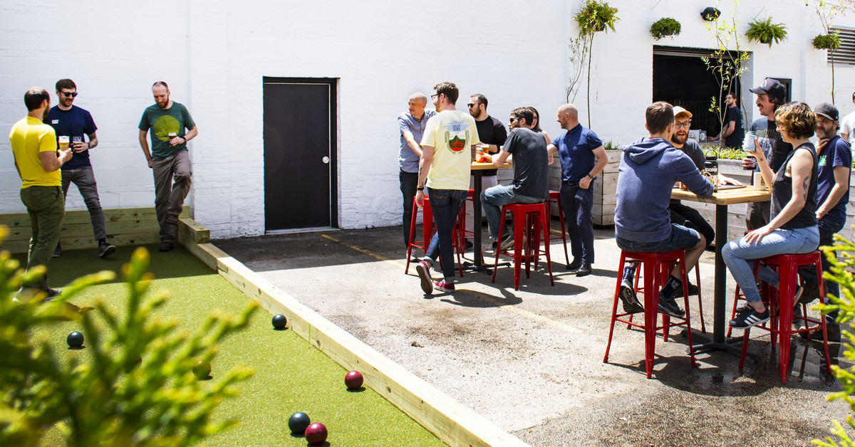 Essential Brewery Half Acre To Unveil A Bocce Court And Revamped Beer Garden photo
