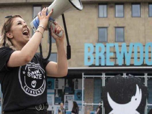 Brewdog Are Giving Away Free Punk Ipa In Edinburgh photo