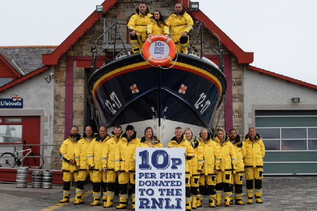 New St Andrews Brewery Beer Raising Money For Rnli photo