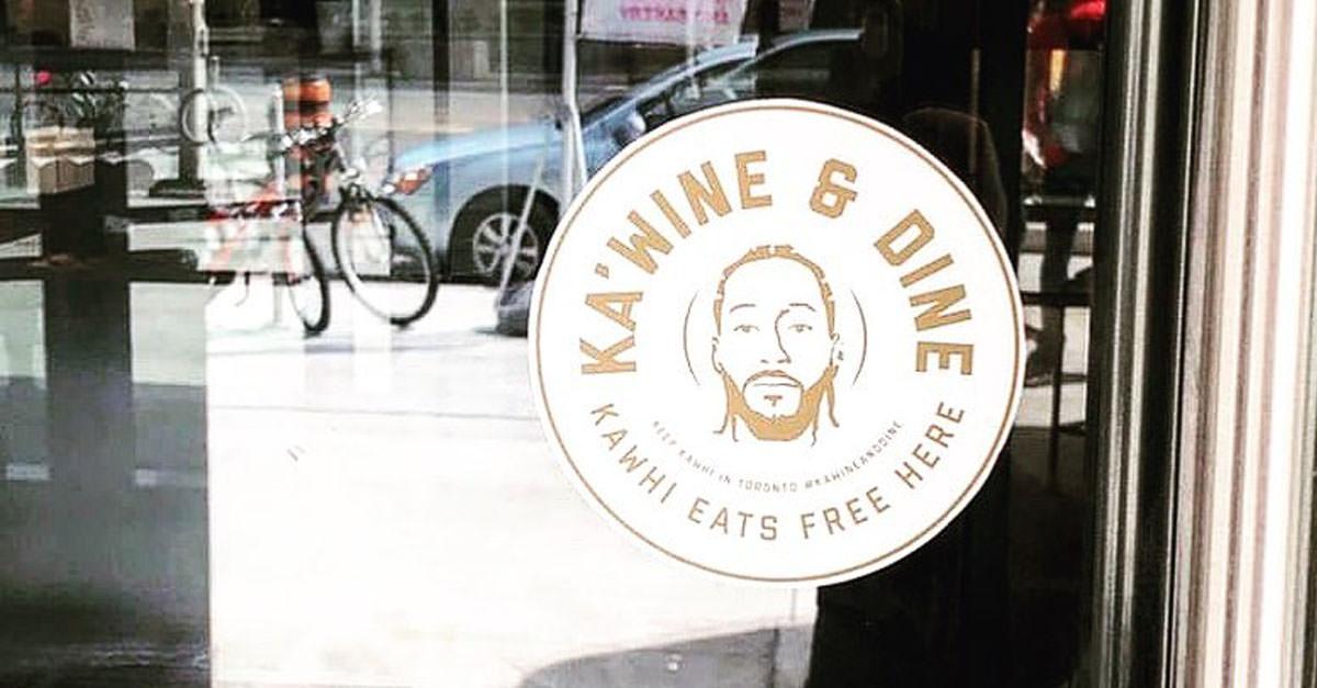 Toronto Restaurants Offering Kawhi Leonard Free Food & Wine For Life If He Stays With Raptors photo