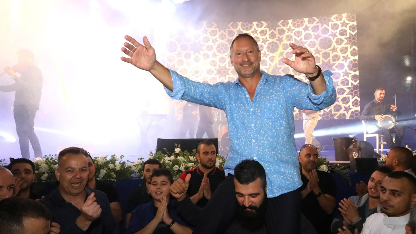 Israelis, Palestinians Share Ramadan Meal At Sodastream photo