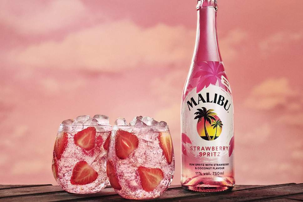 Malibu Have Launched A Strawberry Rum Spritz Just In Time For Summer photo