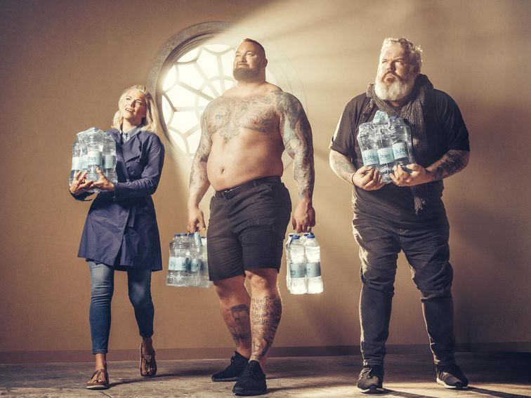 Game Of Thrones Trio Say Goodbye To Plastic Bottles With Sodastream photo