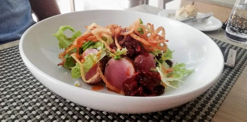 mint restaurant tuna starter Mint Restaurant and Terrace At Taj Cape Town Unveils Glamourous Refurbishment And A New Menu