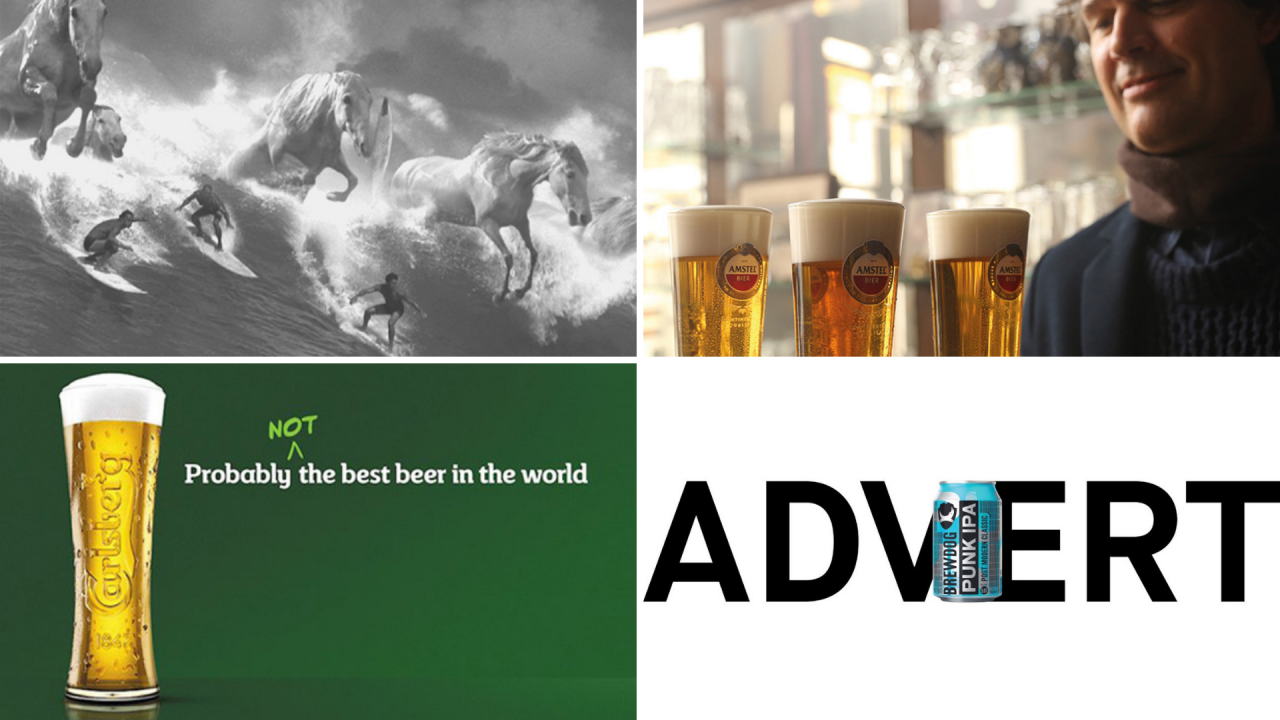 How Beer Ads Are Changing To Suit Modern Drinkers' Tastes photo