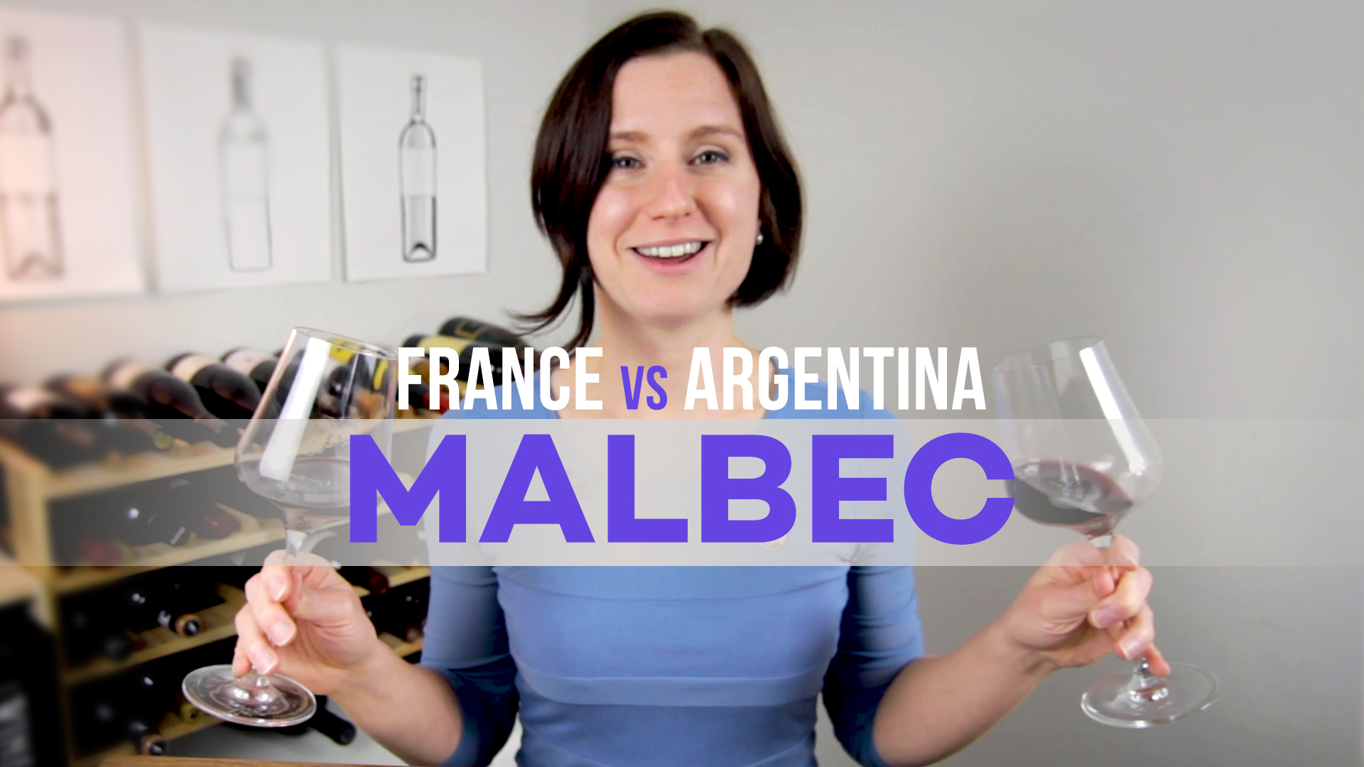 Comparing French Vs Argentinian Malbec (video) photo