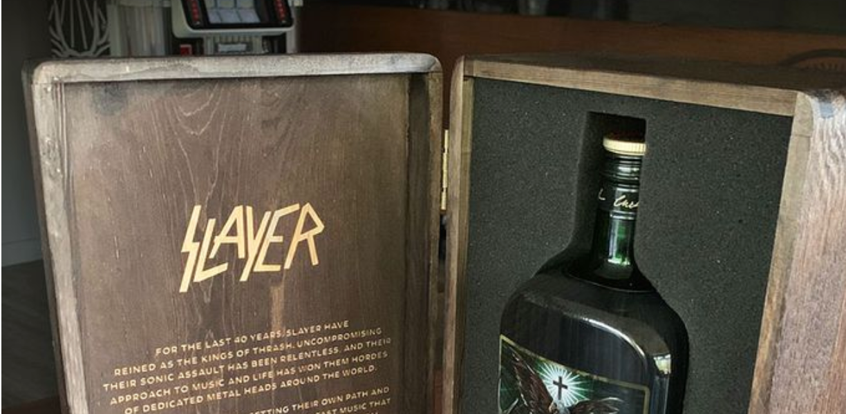 Jagermeister Launches New Limited Edition Slayer Bottle photo