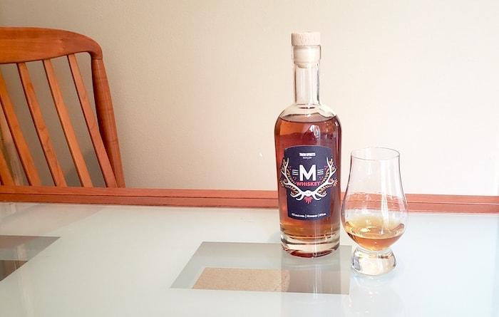 Whiskey Review: Twin Spirits M Whiskey photo