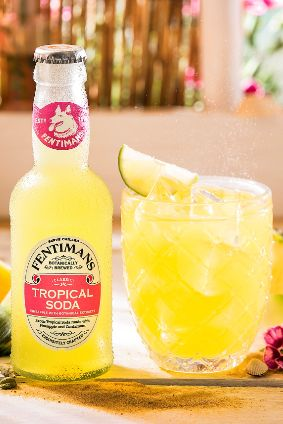 Fentimans Tropical Soda Rum Mixer photo