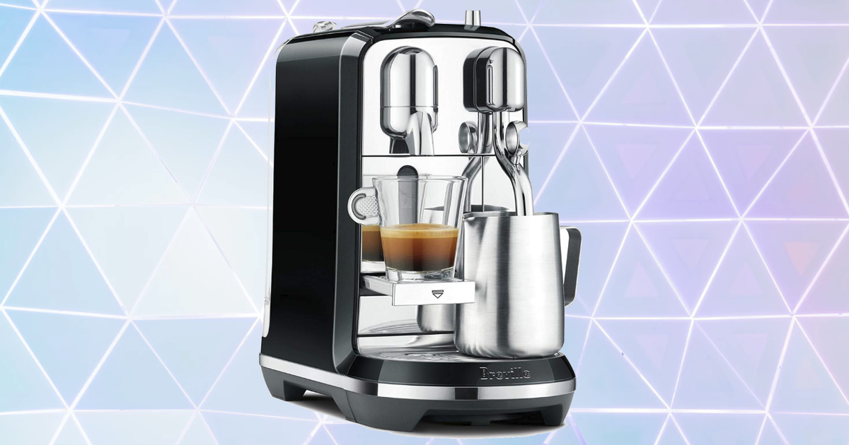 Amazon Has The Nespresso Creatista Espresso Machine On Sale For $121 Off photo