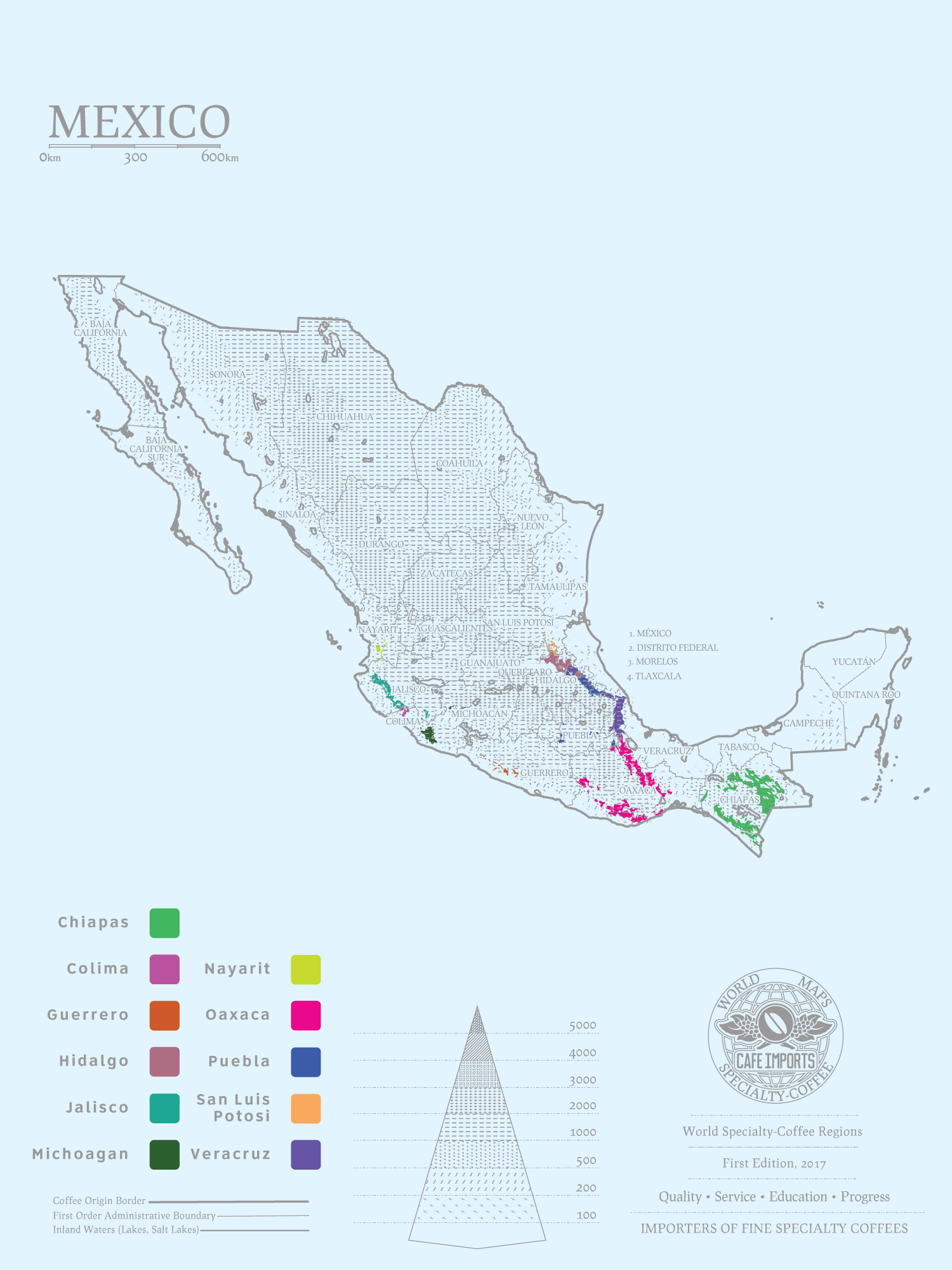 23959 mexicocountrypagemap 7 Countries Every Coffee Snob Should Visit