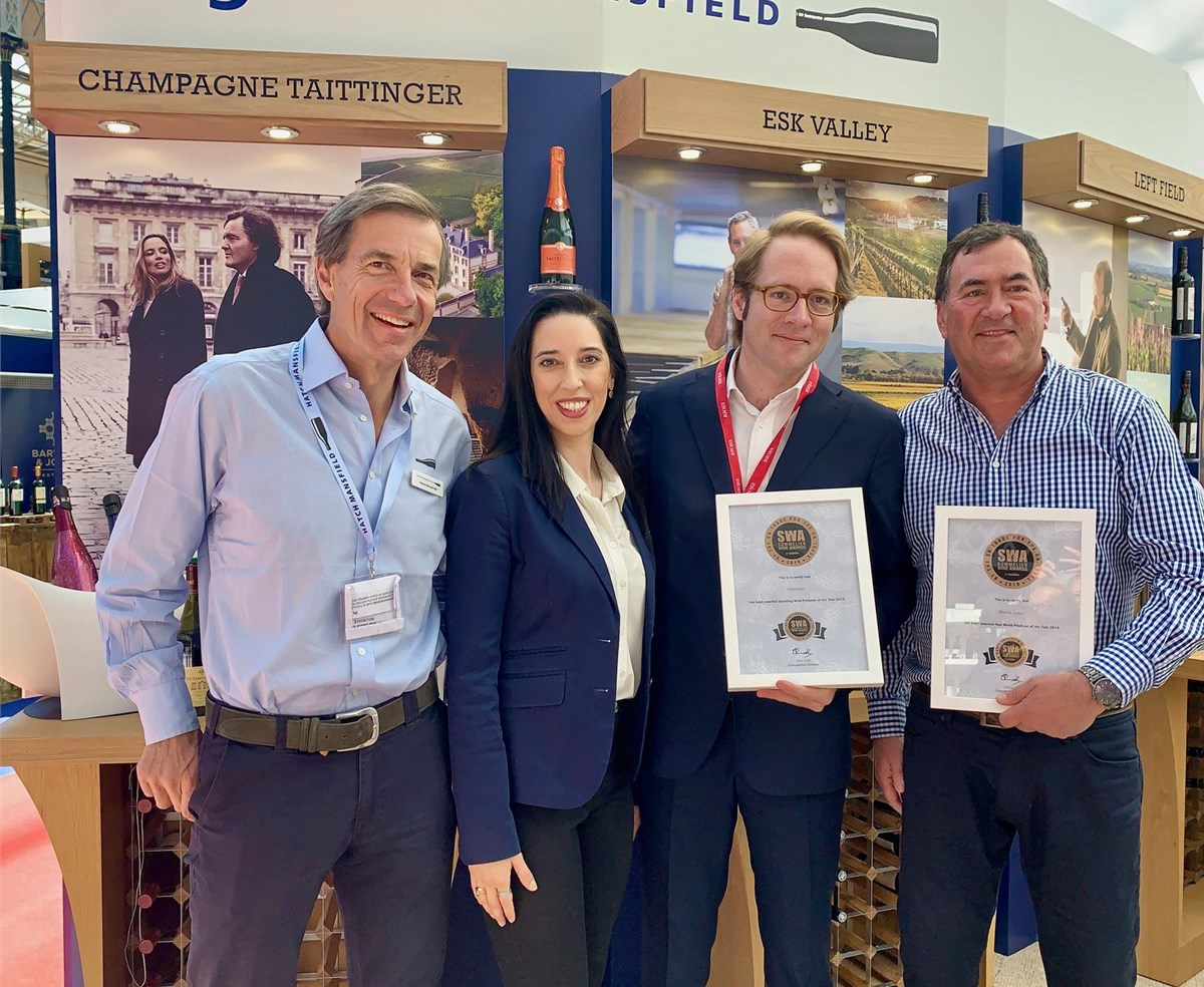 Celebrating Kleine Zalze's Second Straight Win As Best New World Producer photo