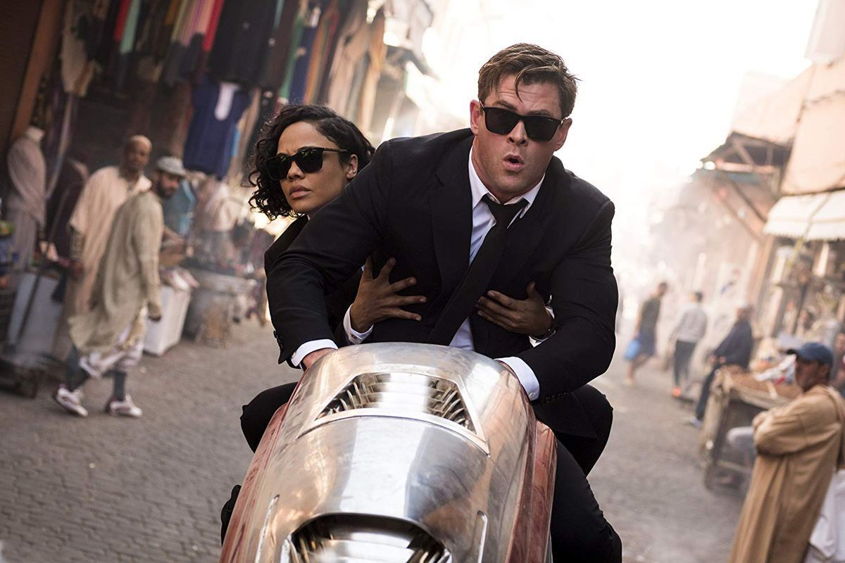 #onthebigscreen: Supermama, Men In Black And The White Crow photo